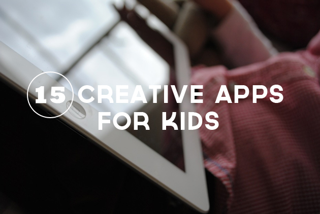 12 Creative Apps for Kids