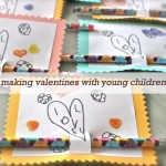 Making Valentines with Young Children