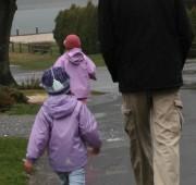 Daddy Rain Walk