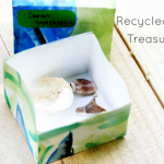 Recycled Art Treasure Box