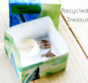 Playful Learning: Recycled Art Treasure Box
