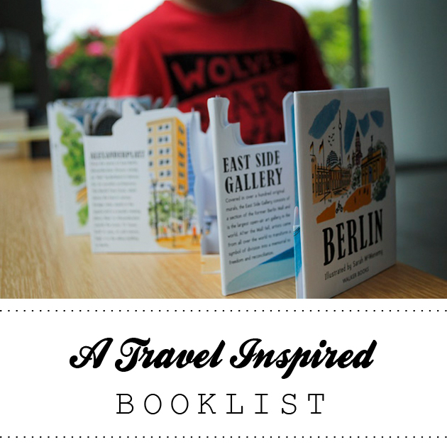 A Travel Inspired Booklist
