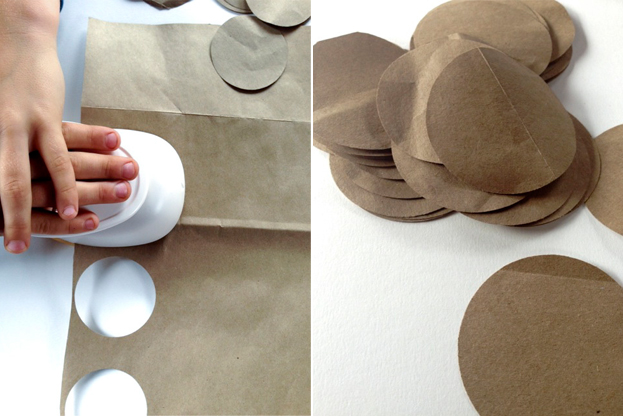From the Bin: Paper Bag Lanterns