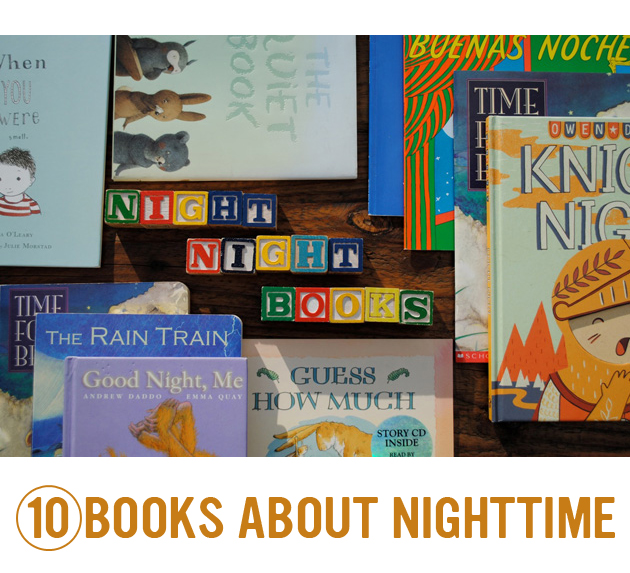 10 Books about Nighttime...