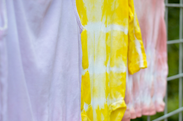 All Natural Tie-Dye DIY