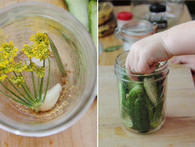 Making Quick Pickles