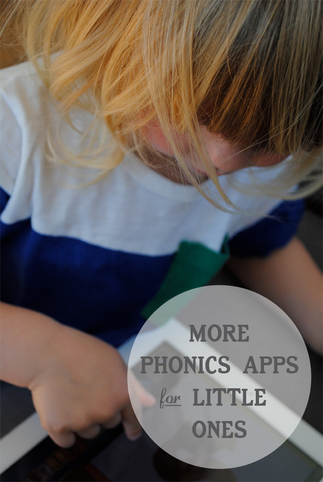 More Phonics Apps for Little Ones