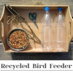 Crafts for Kids: Recycled Bird Feeder