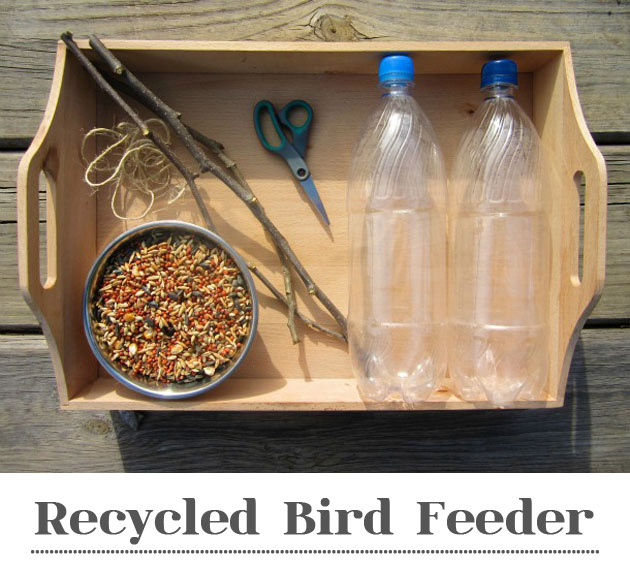 How To Build A Bird Feeder Out Of Recycled Materials
