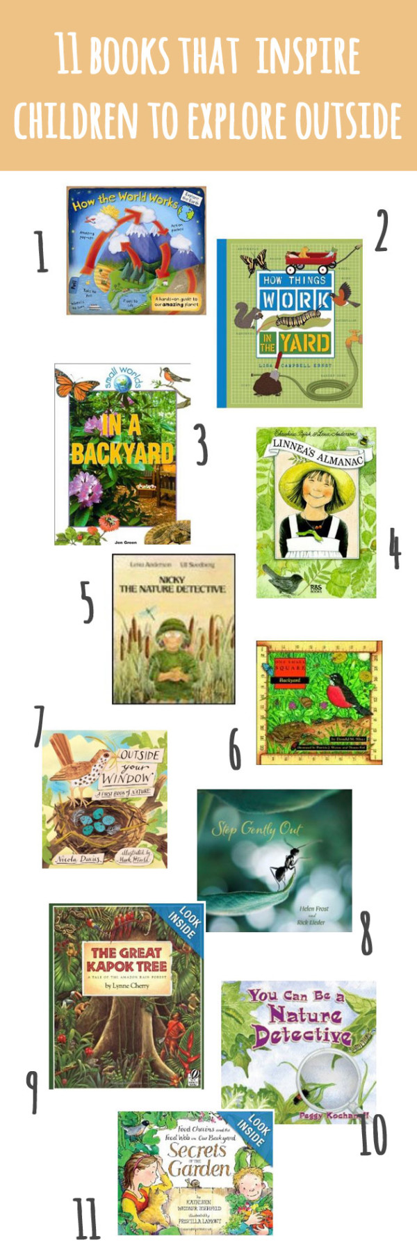 11 Picture Books that Inspire Children to Explore Outside