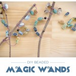 Crafts for Kids: Beaded Magic Wands