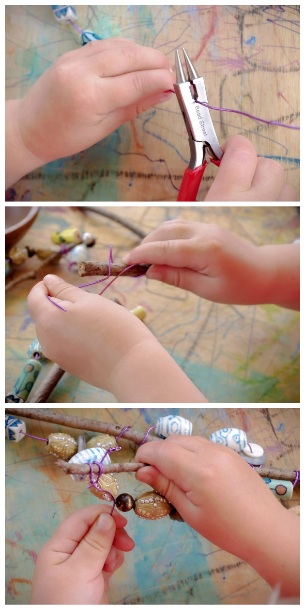 DIY Beaded Magic Wands