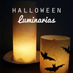 Crafts for Kids: Halloween Luminarias