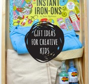 Gift Ideas for Creative Kids: Iron-Ons