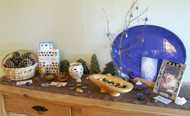 Creating Spaces: Gemstone Nature Table