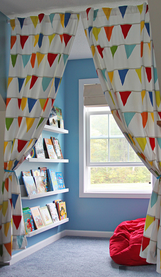 5 Reading Nooks for Kids 3