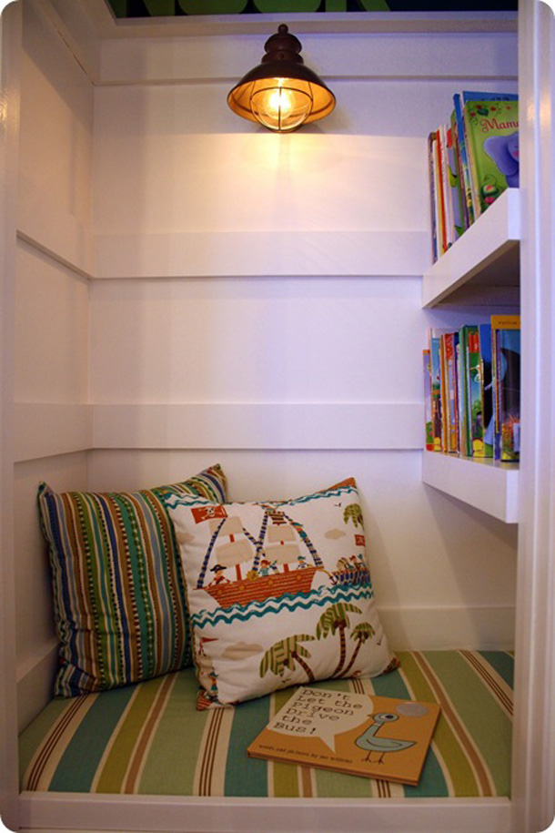 5 Reading Nooks for Kids 4