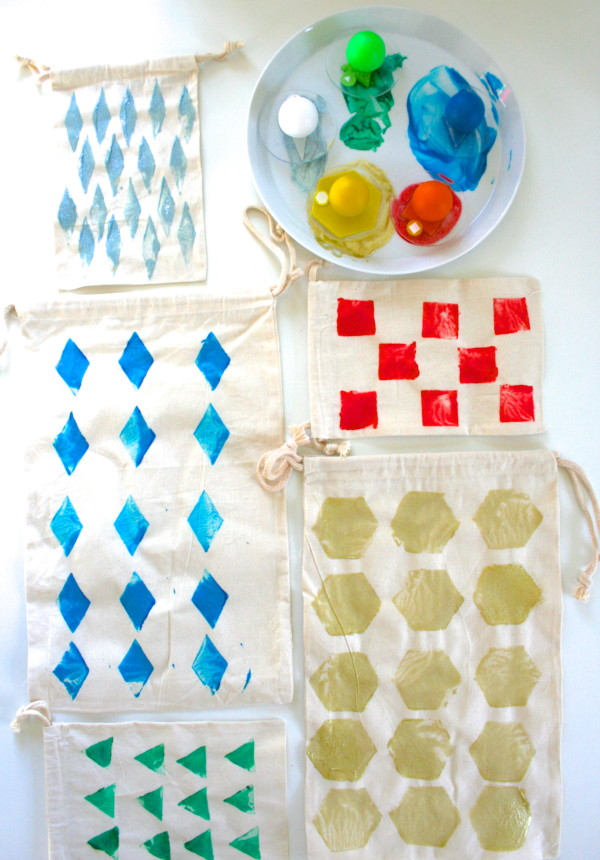 Reduce & Reuse: DIY Fabric Gift Bags