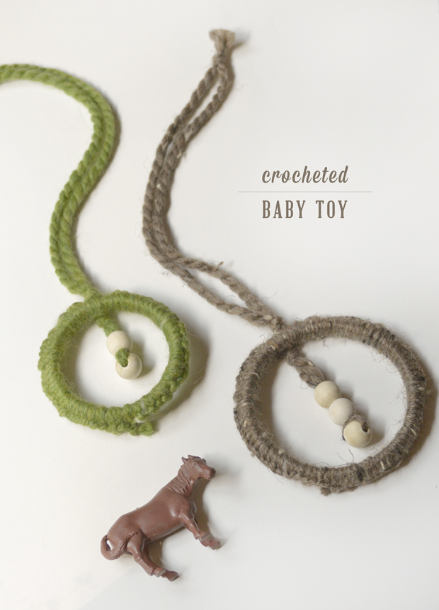 Playful Learning: Crocheted Baby Toy