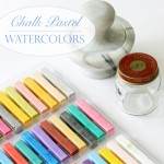 Chalk Pastel Watercolors