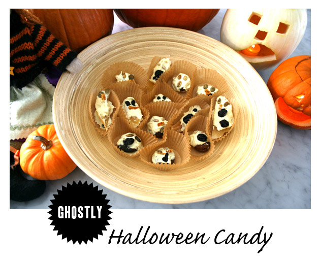 Ghostly Halloween Candy