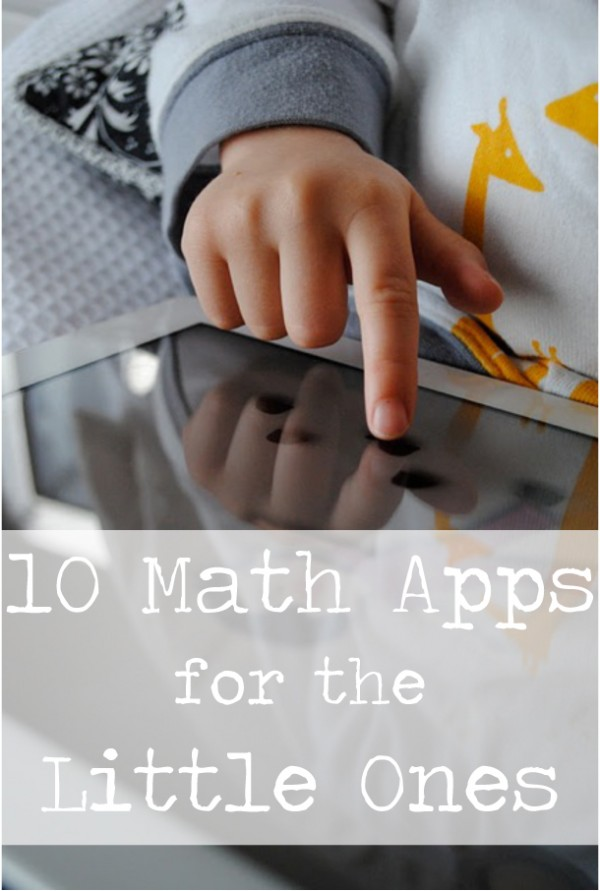 Playful Learning: 10 Math Apps for the Litttle Ones