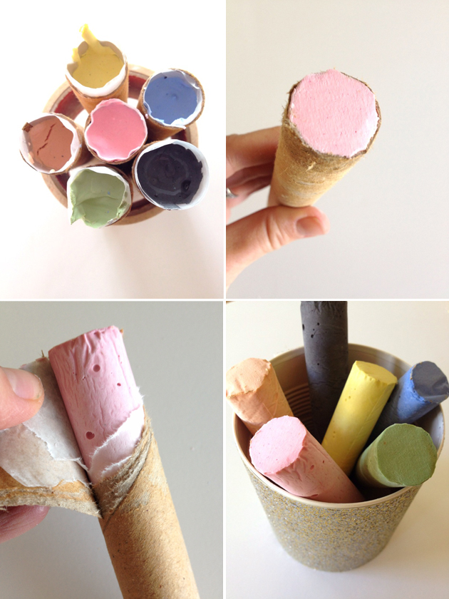 Make Your Own Sidewalk Chalk!