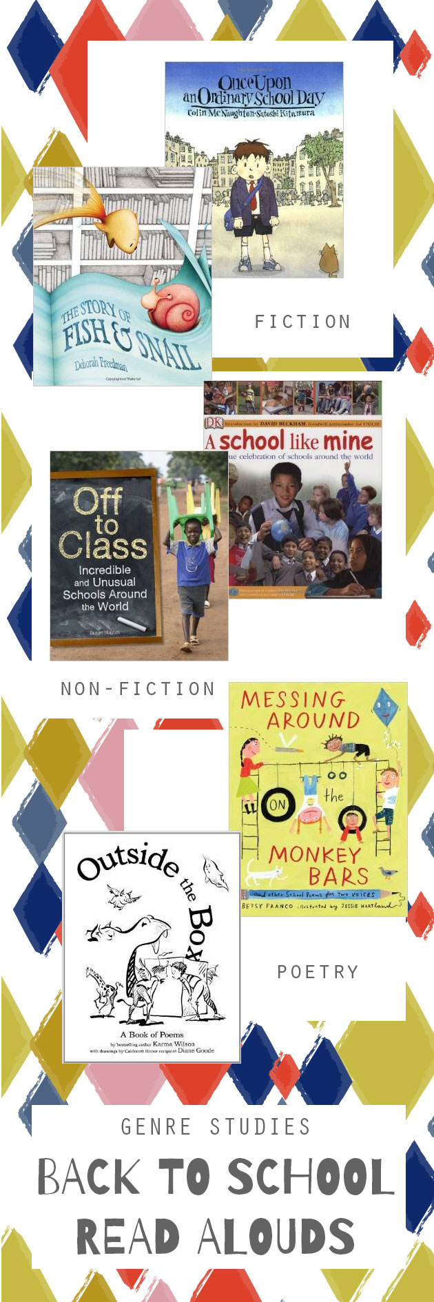 Genre Studies: Back to School Read-Alouds