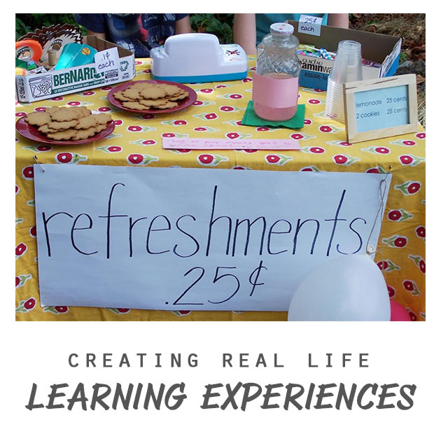 Creating Real Life Learning Experiences