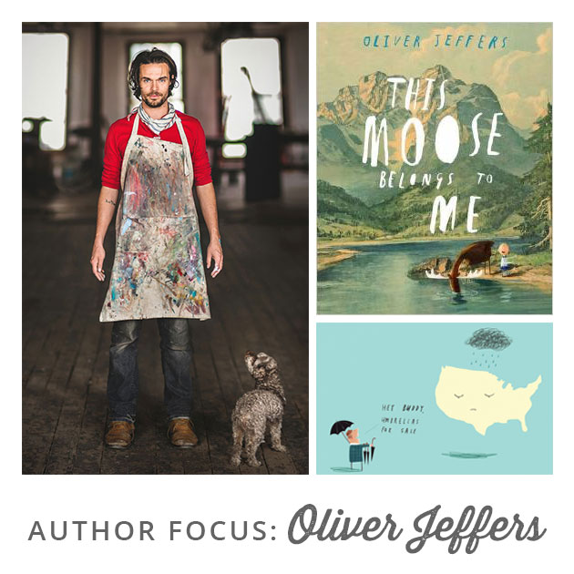 Author Focus: Oliver Jeffers