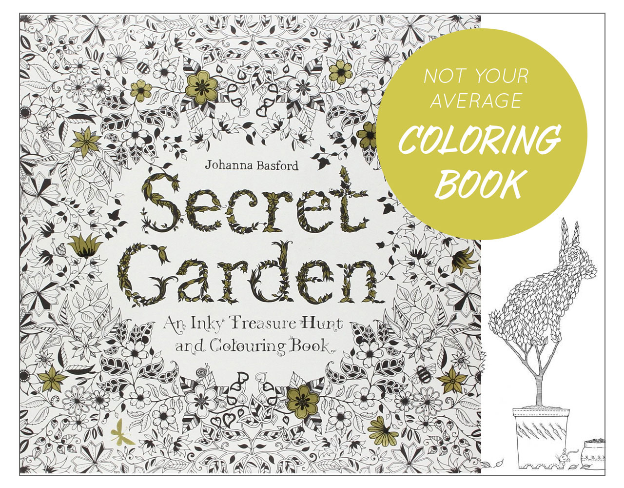 Not Your Average Coloring Book