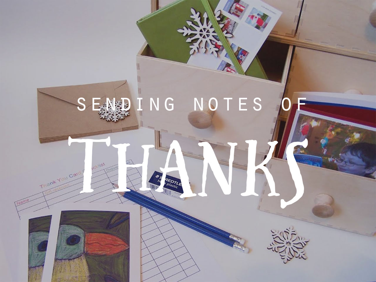 Sending Notes of Thanks