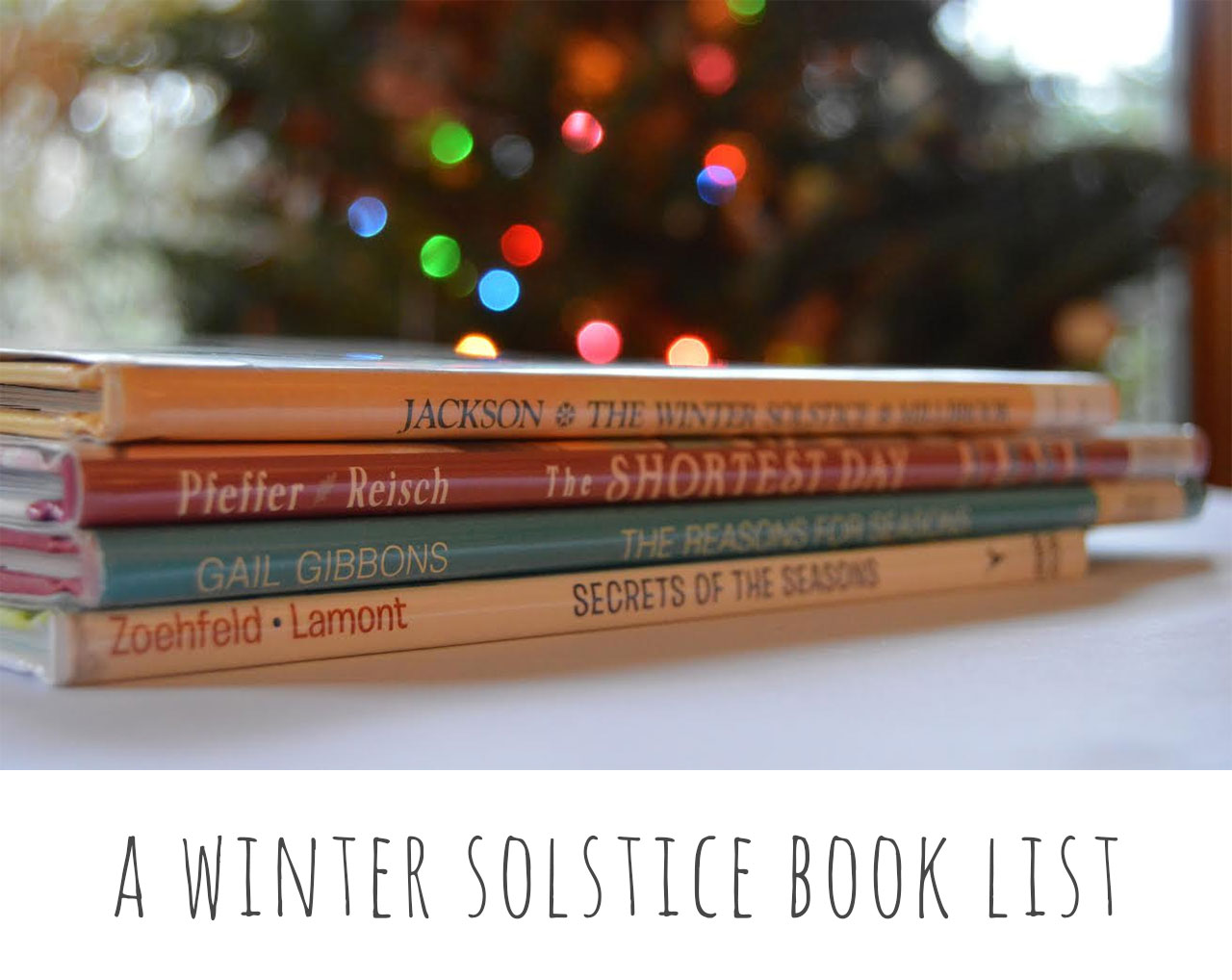 A Winter Solstice Book List
