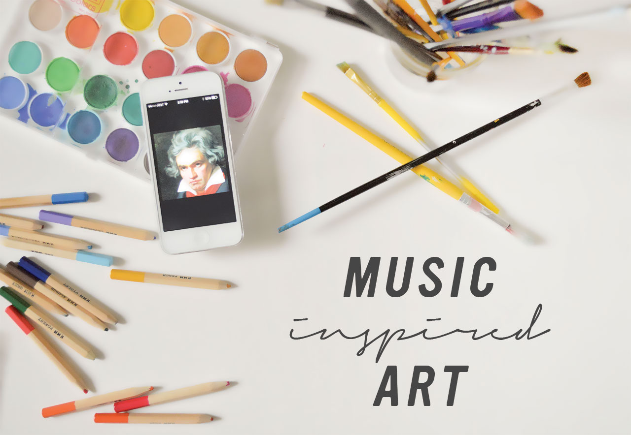 Drawing Connections: Music Inspired Art