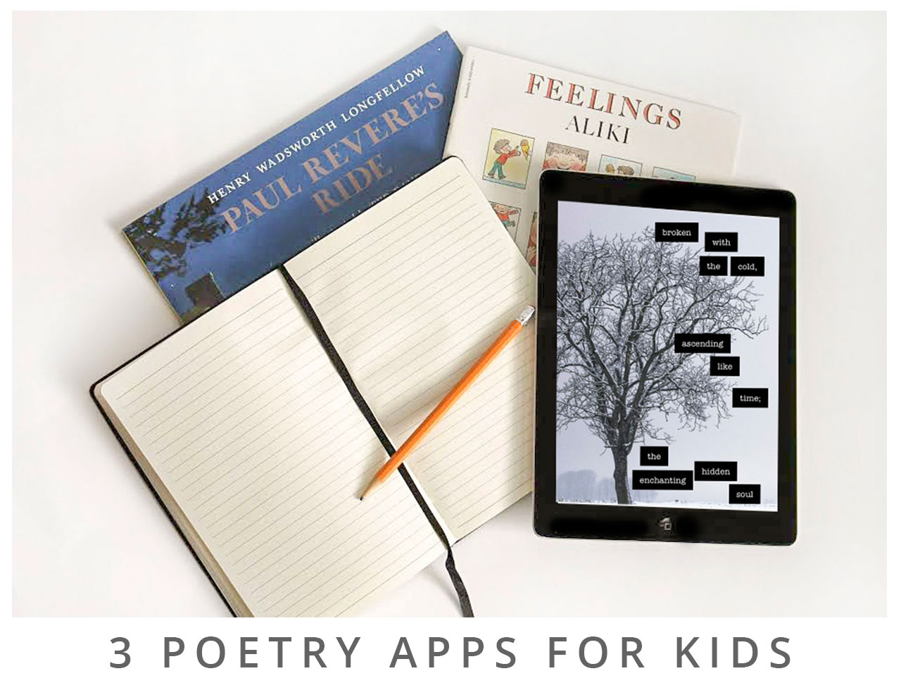 3 Poetry Apps for Kids