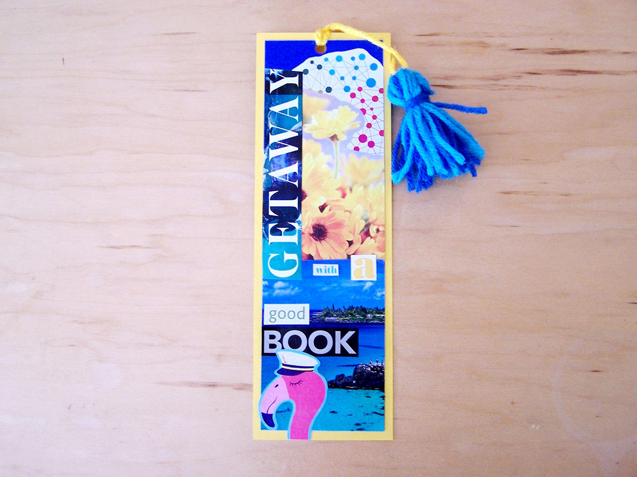 Bookmark3Crafts for Kids:Make a Collage Bookmark