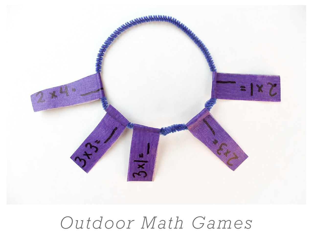 Outdoor Math Games