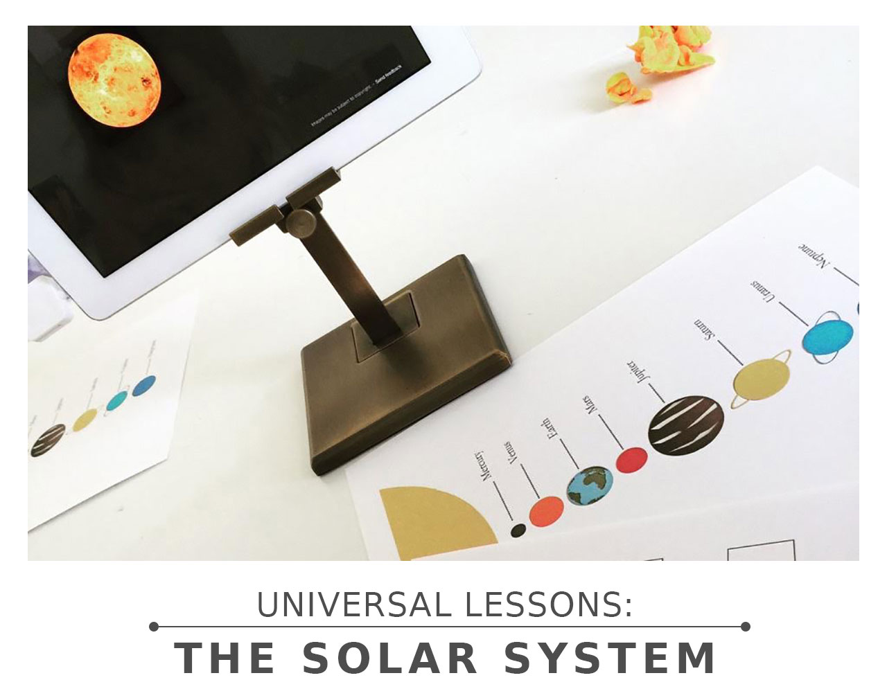 Universal Lessons: The Solar System