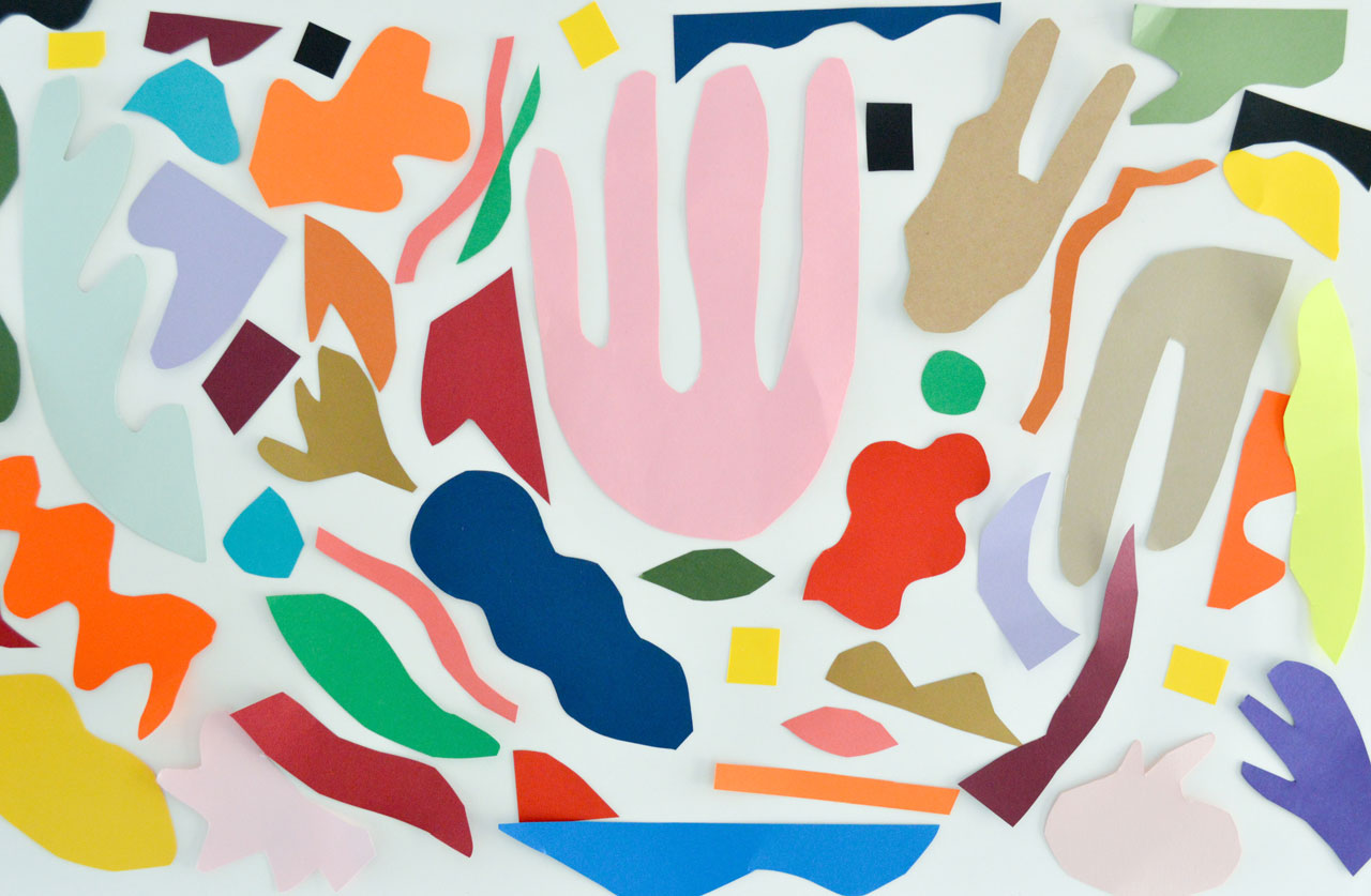 coloured paper matisse work