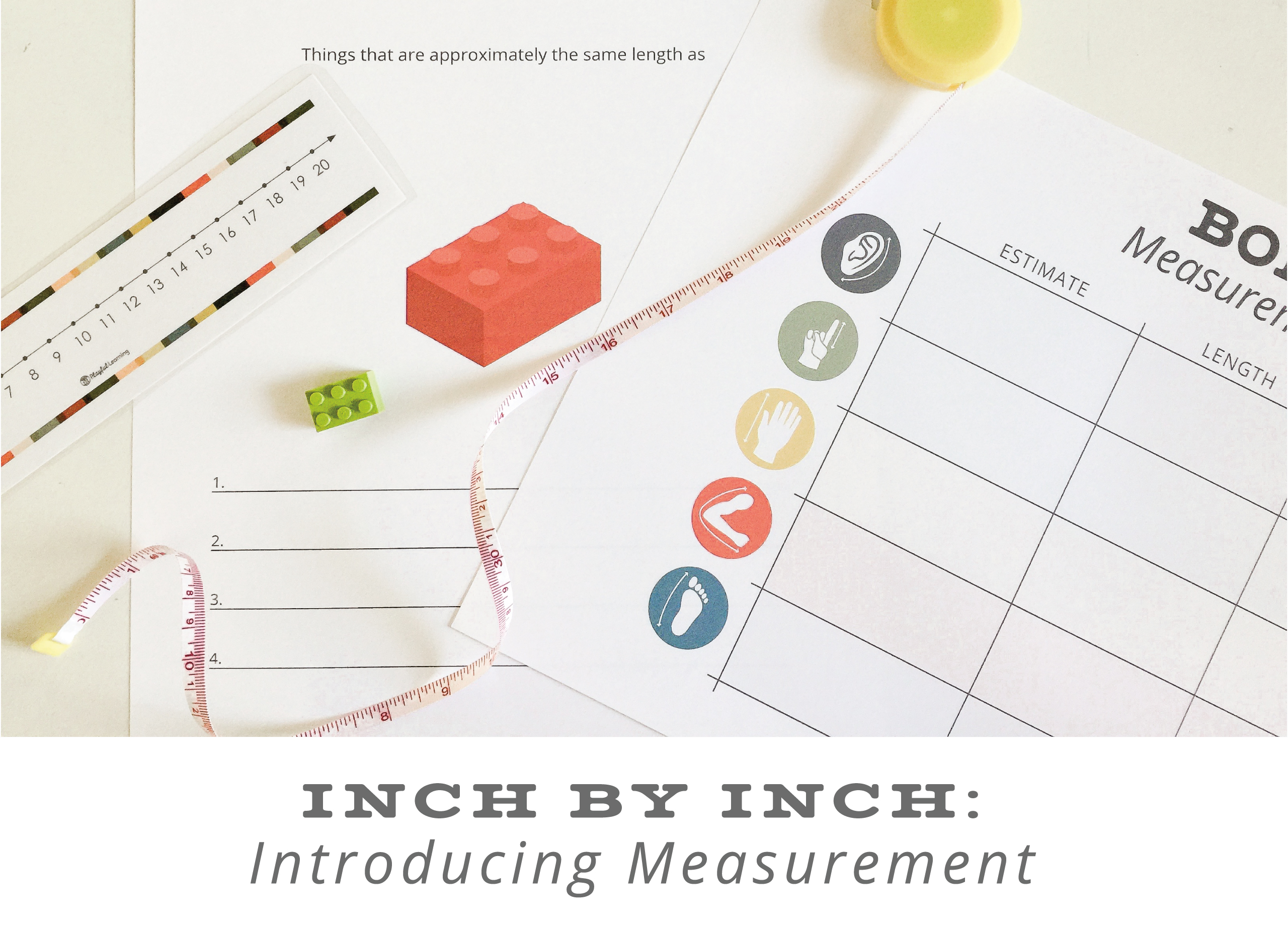 Playful Learning: Introducing Measurement