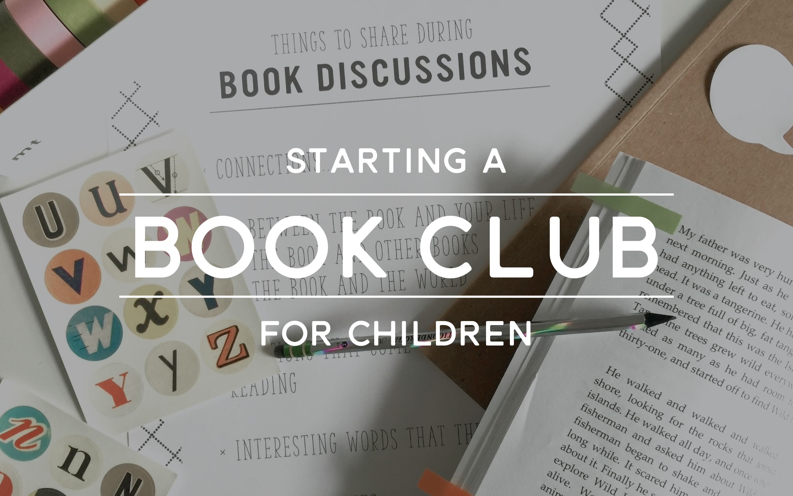Playful Learning: Staring a Book Club for Children