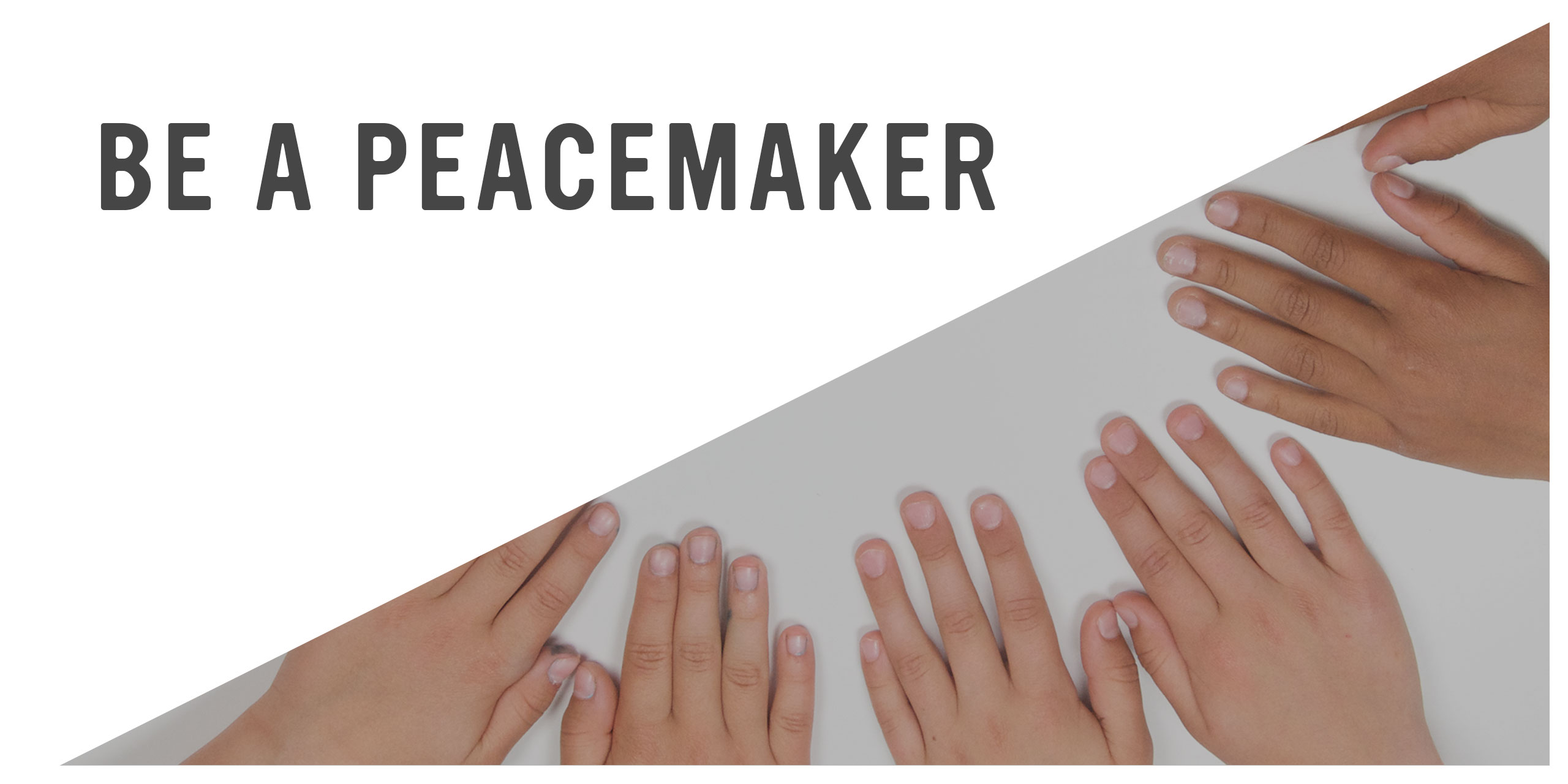 Playful Learning: Be a Peacemaker