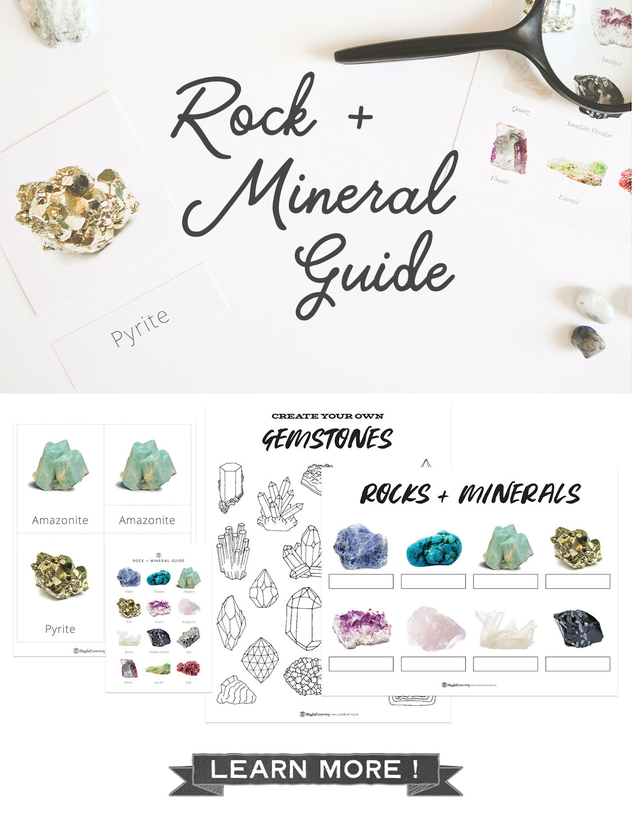 Playful Learning: Rock and Minerals