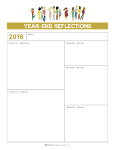 Playful Learning: Year-End Reflections