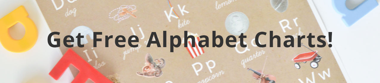 Playful Learning: Alphabet Charts