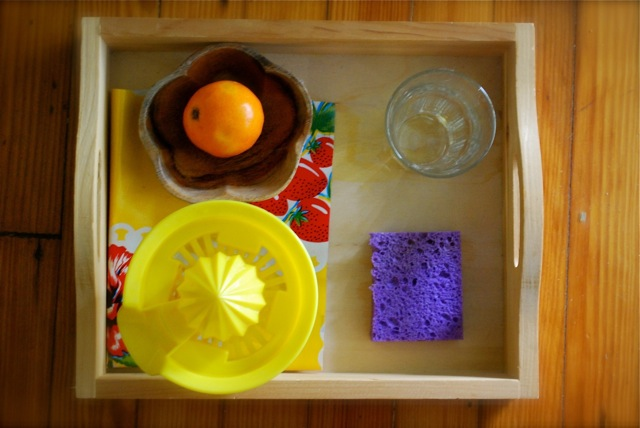 Playful Learning: Squeeze Your Own Orange Juice