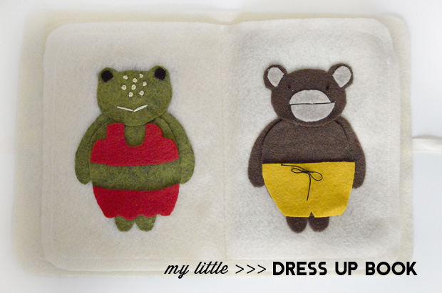 Playful Learning: My Little Dress Up Book