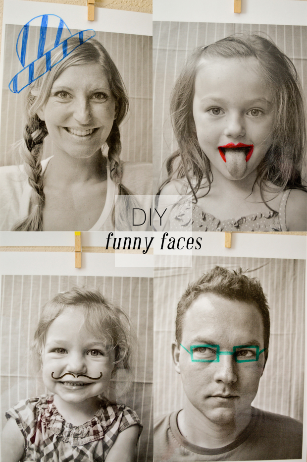 DIY Funny Faces
