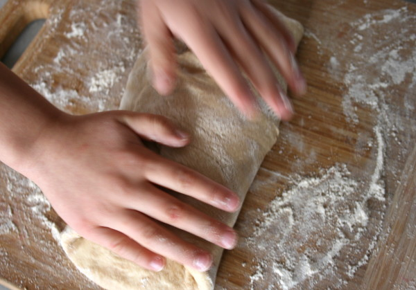 Kneading Bread