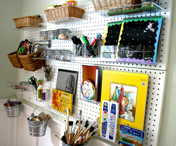 Playful Learning: Pegboard Organization
